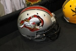 Healy Awards - Wisconsin Football Coaches Association Booth - Football Helmet Decal - 4
