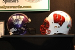 Healy Awards - Wisconsin Football Coaches Association Booth - Football Helmet Decal - 9