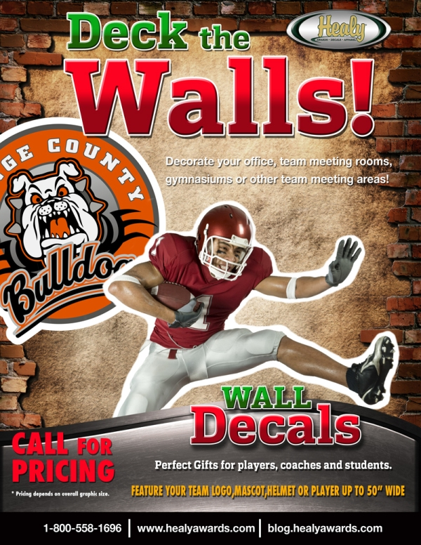 Deck the Walls - Wall Decals - 12.11.12