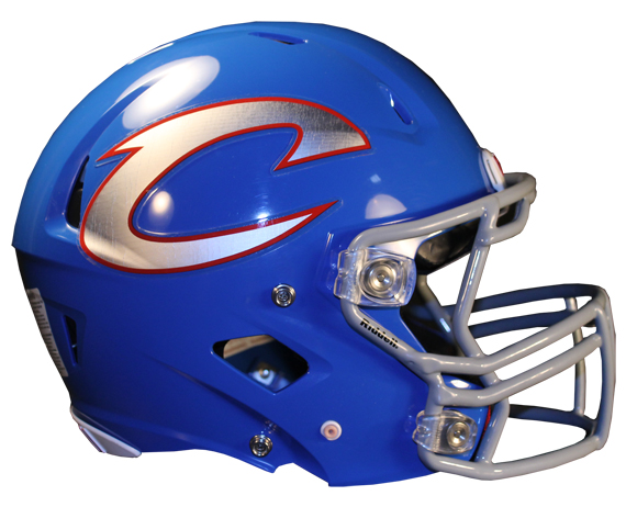 Football Helmet Stickers : New for chrome football helmet decals