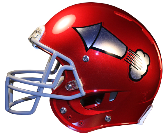 New for 2013 – Chrome Football Helmet Decals | Healy ...