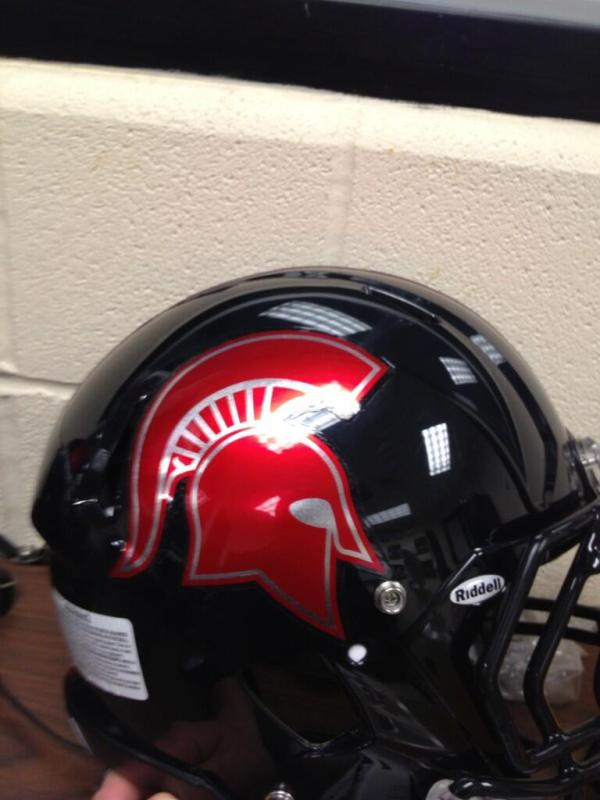 Healy Awards - Emporia High School Chrome Football Helmet Decals - 4.15.13 - 1