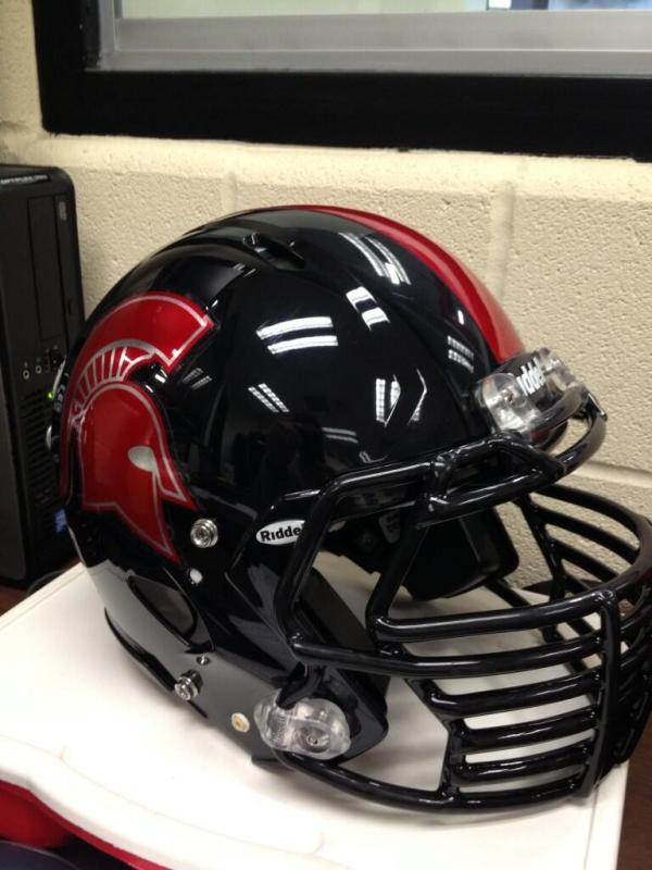 Healy Awards - Emporia High School Chrome Football Helmet Decals - 4.15.13 - 2