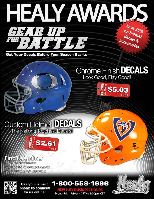 2013 Last Chance Decal Flyer