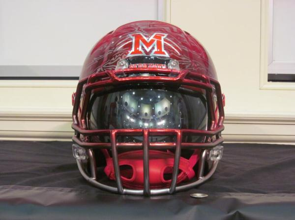 Healy Awards - Miami(OH) Football Helmet Decals - 7.24.13 - 1