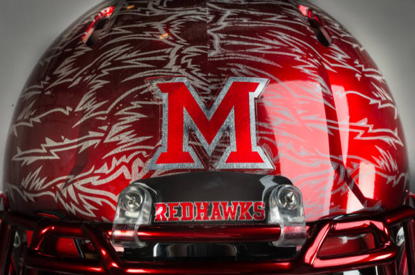 Healy Awards - Miami(OH) Football Helmet Decals - 7.24.13 - 2