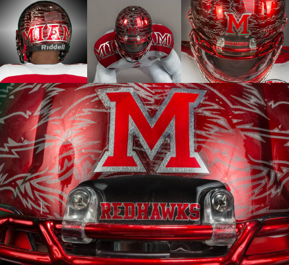 Healy Awards - Miami(OH) Football Helmet Decals - 7.24.13 - 6