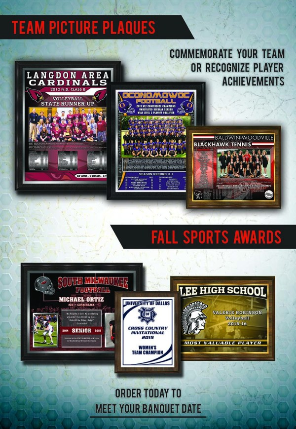 October 2015 Plaque Awards