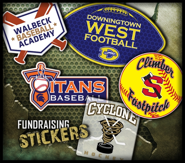 April 2016 Fundraising Stickers