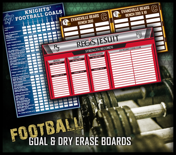 May 2016 Dry Erase Goal Boards