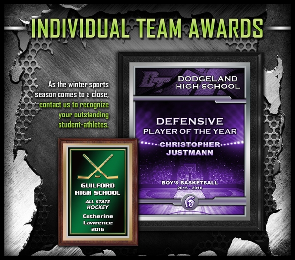 March 2017 - Indiv Team Awards