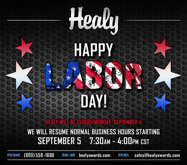 Labor Day Closure 2017