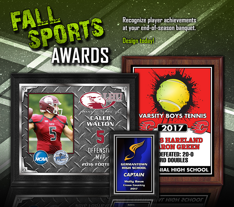 October 2017 Fall Sports Awards