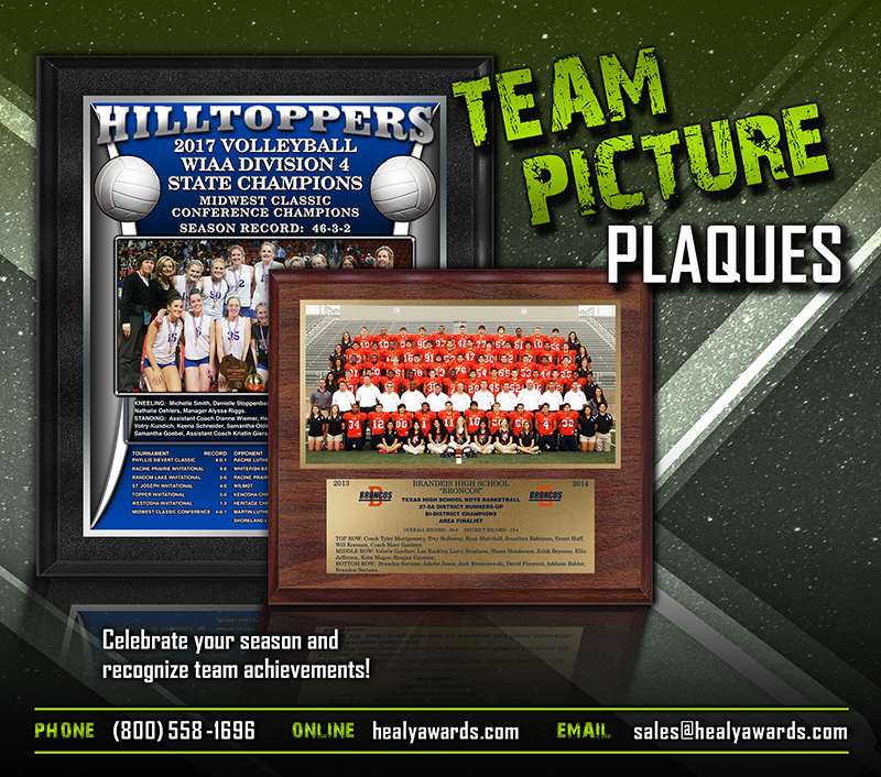 October 2017 Team Picture Plaques