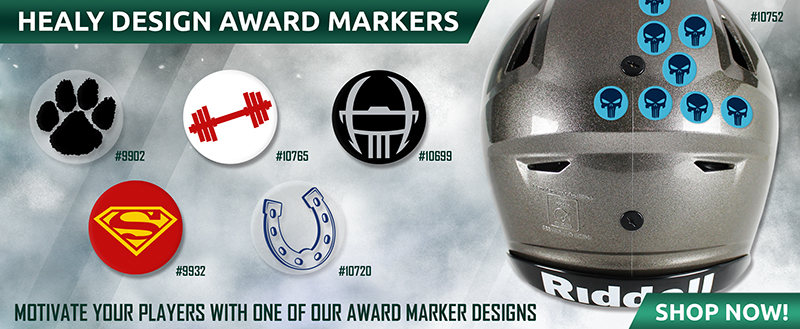 August Football Award Markers