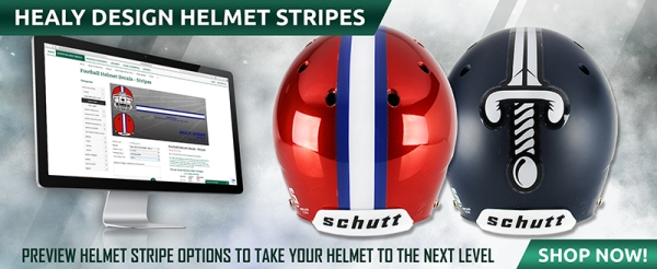 August Football Helmet Stripes