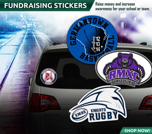 November 2018 Fundraising Stickers