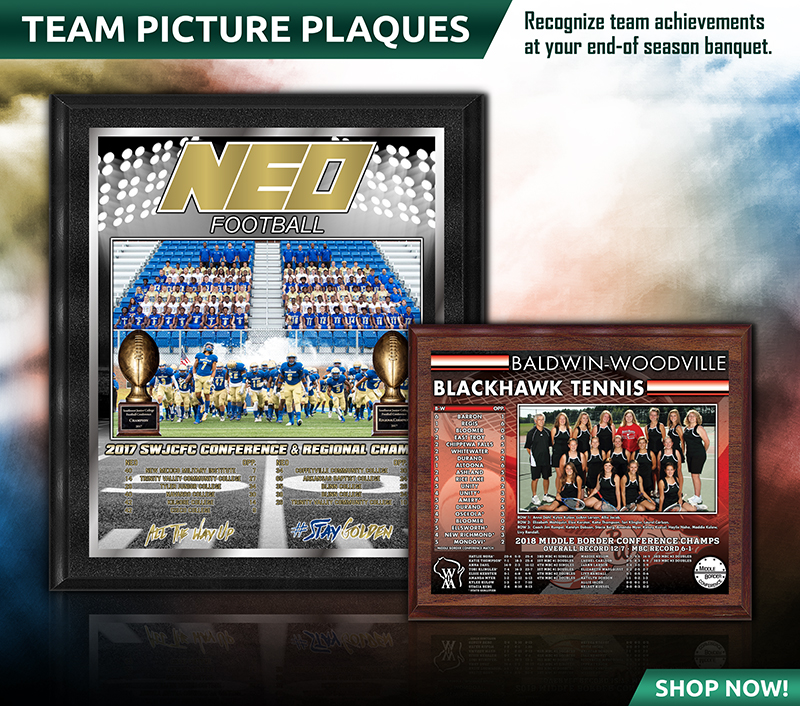 November 2018 Team Picture Plaques
