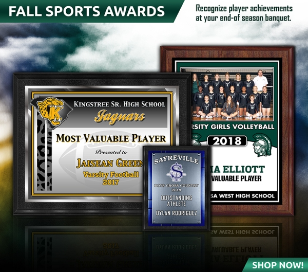 October 2018 Fall Sports Awards