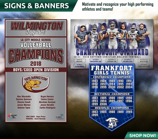 October 2018 Signs & Banners