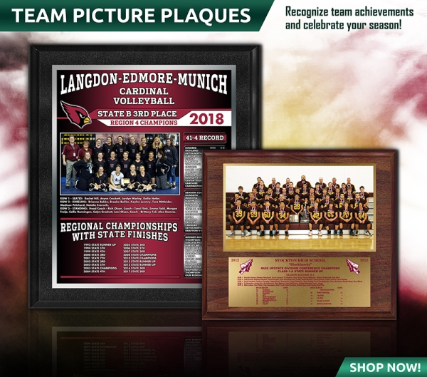 October 2018 Team Picture Plaques